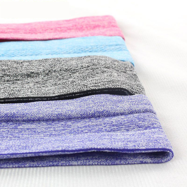 Unisex Yoga Sweatband Silicone Antiskid Sweat Headband Men Sports Headscarf Women Jogging Hair Belt Headsize Fits 50-62cm N311 4