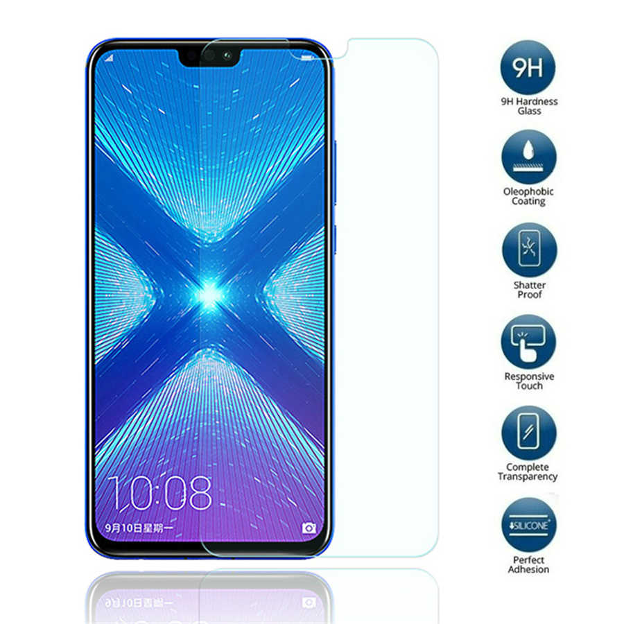 9H Tempered Glass For Honor 10 Screen Protector Glass For Huawei Honor 8x 10 9 8 lite 7x 6a 6c pro honor play Protective Film
