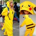 Roupas pokemon pikachu pokemon ir japão estilo roupas jaqueta de jeans com moletom moletom kawaii kawaii 3d survetement femme
