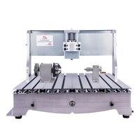 Mini cnc roteador quadro 6040 de madeira gravador cnc fresadora para diy