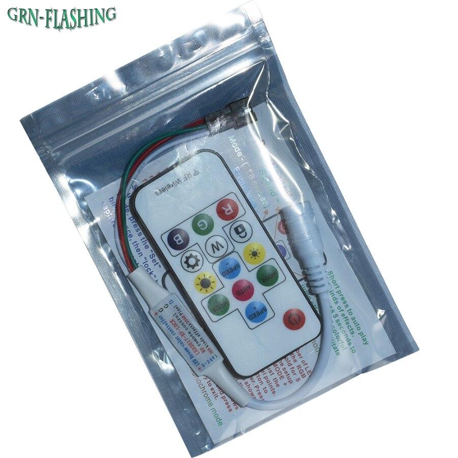 Controladores Rgb led dream-cor controlador dc5v-24v 14 Applicable Lights : Ws2811 Ws2812 Led Strip