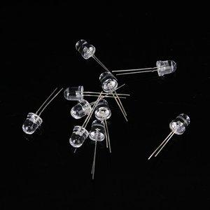 Image 3 - 10 pces 8 mm saída de luz led infravermelho ir