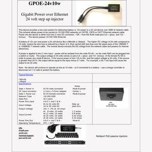 Image 5 - Convertisseur en ligne PoE de GPOE 24v10w pour les Conversions de 12 Volts et solaire en PoE augmente instantanément la tension pour régulariser 24 Volts