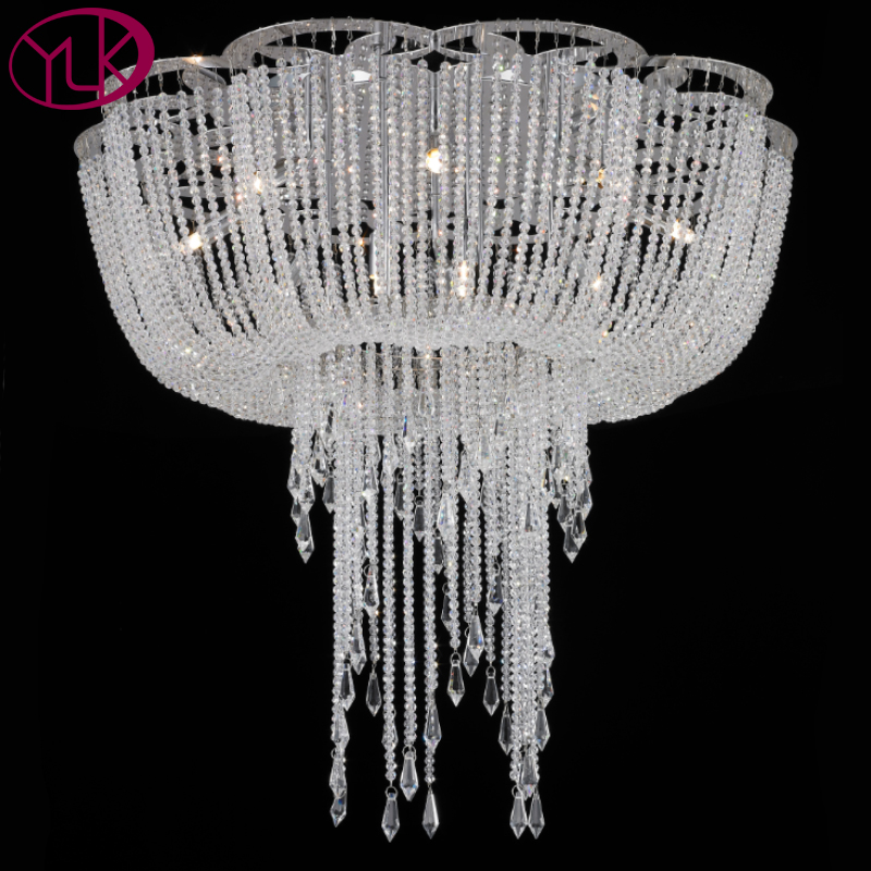 New Modern Crystal Light Chandelier For Living Room Luxury LED Lustres De Cristal Lamps Home Decoration Lighting Fixture top quality single ring crystal home lighting modern led crystal chandelier light fixture living room lustres de cristal lamp
