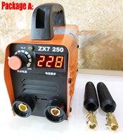 250A 110 250V Mini MMA Welding Machine Inverter Arc Welding Machine Rod Welding Machine