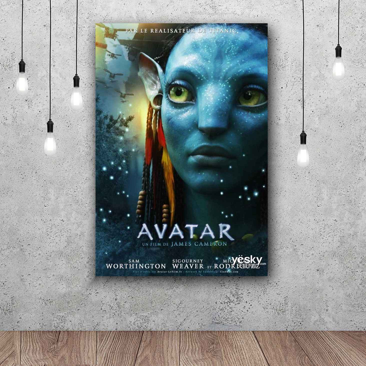 Avatar Movie Poster: Avatar 2 Silk Poster Decorative 12x18 24x36inch With Free