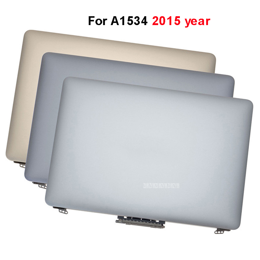 Brand New 12 inch LCD LED Screen Laptop Full Display Assembly For 12 A1534 2015 Year Full LCD Display image