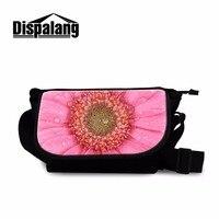 Dispalang Popular Canvas Women Messenger Bags Floral Pattern Satchel Crossbody Bag Small Shoulder Casual Bags Spanish