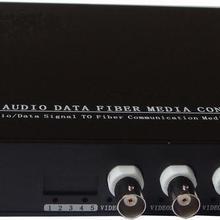 HD видео CVI Оптическое волокно al конвертер, 4ch HD 720 P видео волоконно-оптический передатчик, одномодового один Волокно 20 км, FC Волокно порт