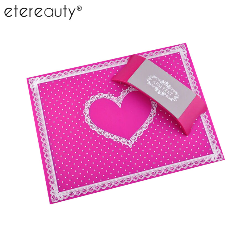 ETEREAUTY Silicone Nail Art Cushion and Pad Arm Rest Pillow Nail Salon Hand Holder Pad Arm Rest Manicure Accessories leopard grain pattern manicure nail beauty wrist cushion pillow brown yellow black
