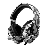 XBOX game headset PS4 game controller eat chicken game headset camouflage headset with microphone Wired headphone for pc game