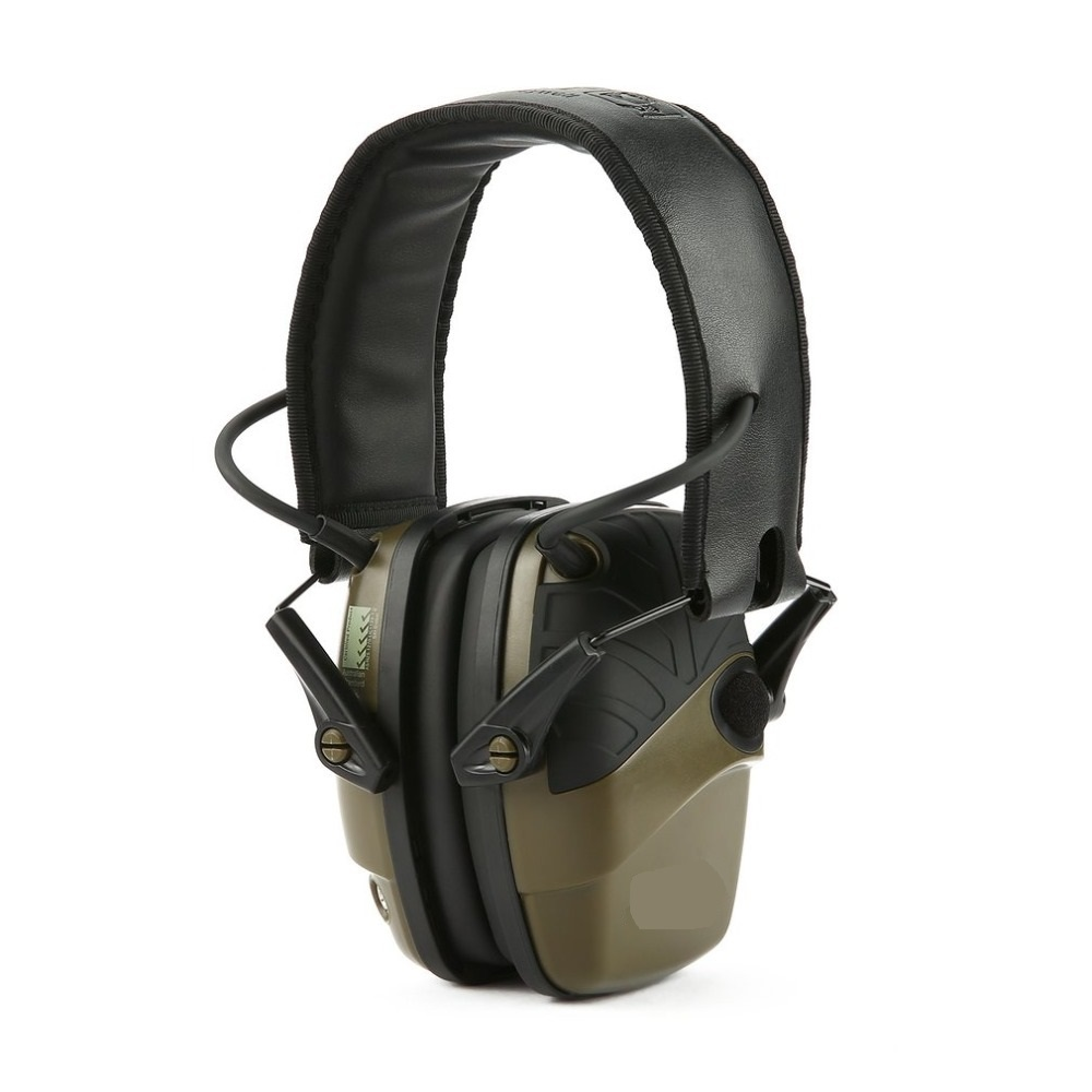Electronic Shooting Earmuff Outdoor Sports Anti-noise Sound Amplification Tactical Hearing Protective Headset Foldable outdoor sports anti noise earmuff sound electronic shooting earmuff tactical hunting hearing protective headset hot sales