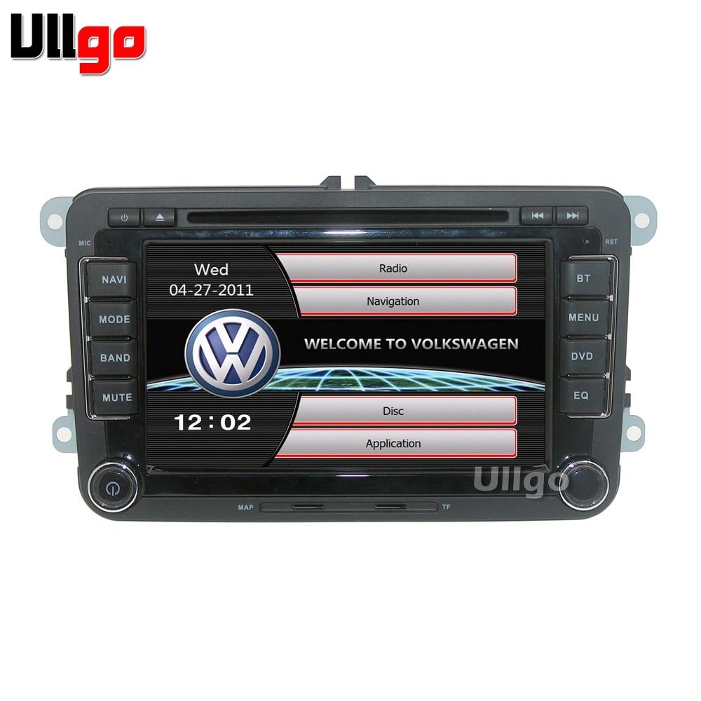7 inch WinCE 6.0 Car DVD GPS for VW SAGITAR/JATTA/JETTA/MAGOTAN/PASSAT SEAT SKODA with BT Radio RDS Mirro link Free 8GB Map Card