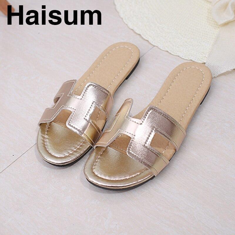 2018 summer with a word flip sandals women's flat sandals L02 штатив benro t 800ex
