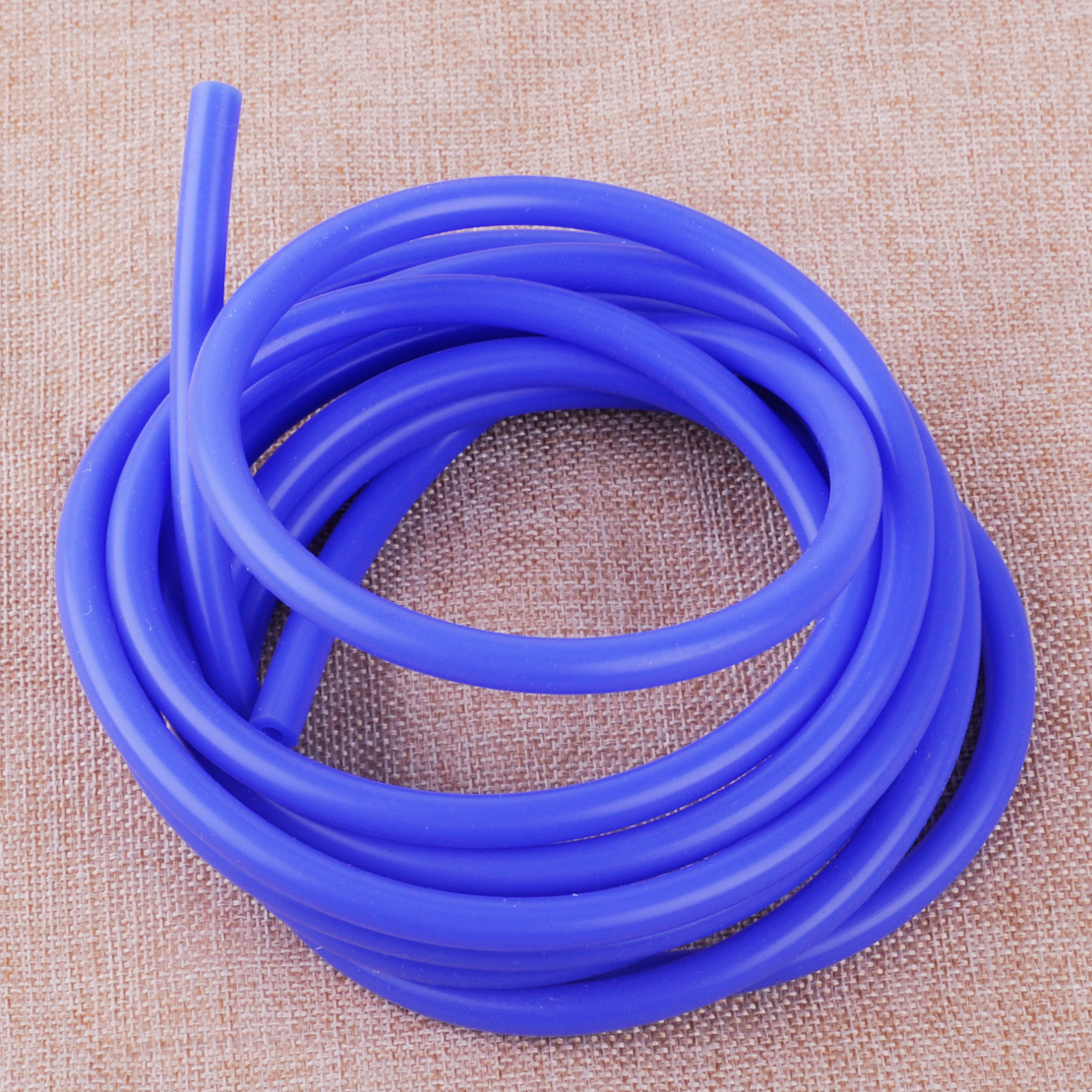 3 METERS SILICONE HOSE FOR HIGH TEMP VACUUM ENGINE BAY 4MM RED ORANGE COLOR S4