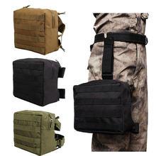 Тактическая Сумка для ног с моллом edc утилита сумка бедра военный