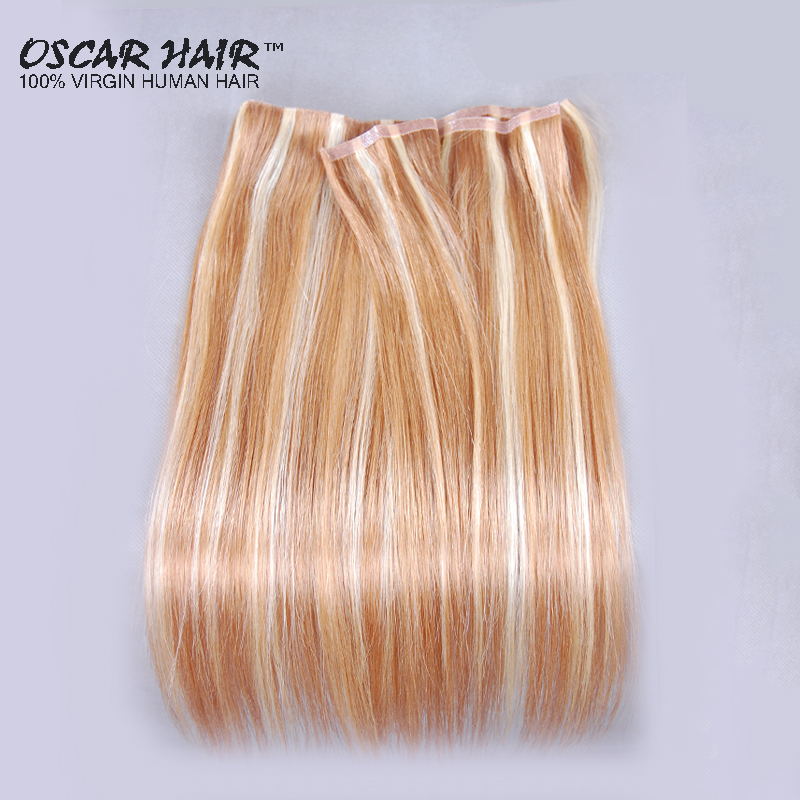 New Arrival Promotion 100 Real Hair Weave Pu Tape Glue Skin Weft