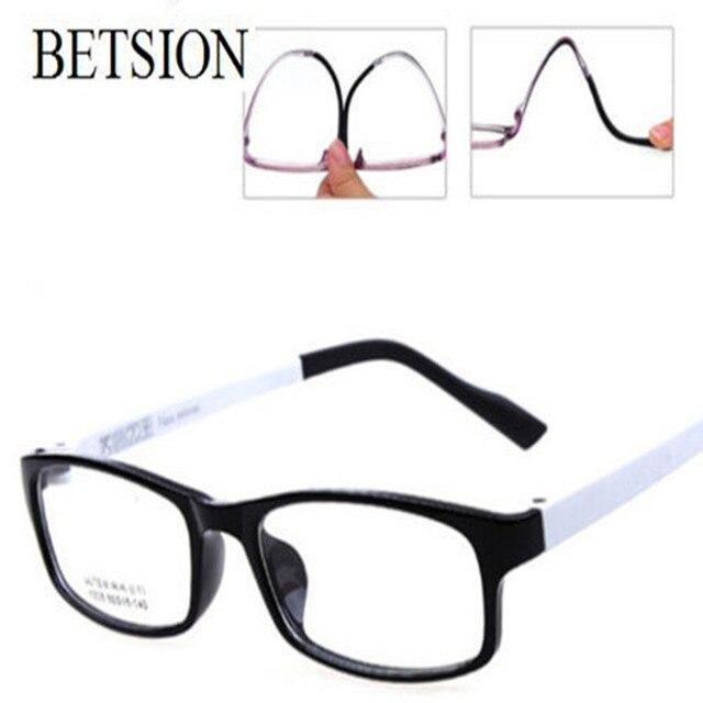 Optik ULTEM Kacamata Frame Kacamata komputer Biasa Kacamata Hitam Putih Baru c0431f8db3