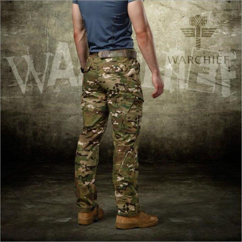 Hombres Táctico Camuflaje Militar Cargo Ropa Nuevo Combate Swat Casual Pantalones Camouflage PFzwx1
