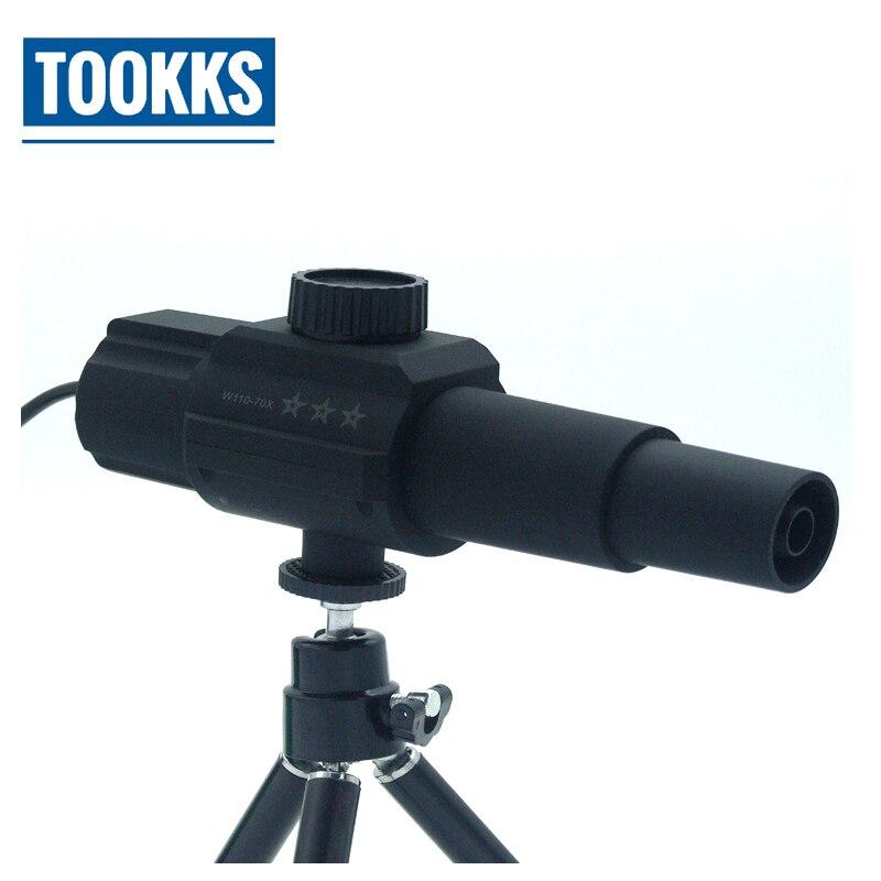 1-70x Zoom 2.0mp Inteligente Digital Telescopio Monitor Lupa Multifunción Tomar Fotos Grabación De Vídeo