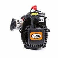 32cc 4 болта двигателя для HPI Rovan km Baja 5b 5 t 5sc Losi rc автозапчасти