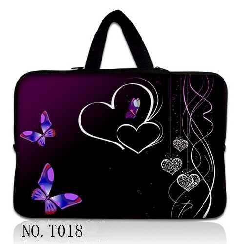 Butterfly Heart Notebook Bag Smart Cover For Apple MacBook Air 11.6 12 inch Laptop Sleev ...