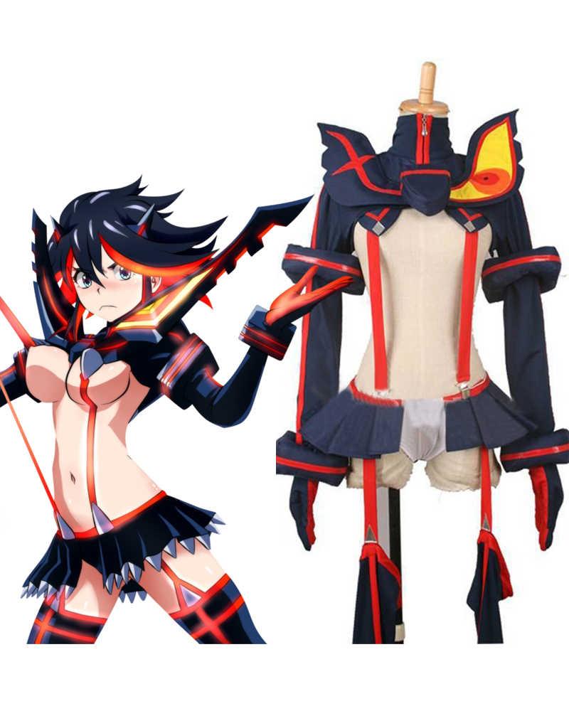 Kill La Kill Ryuko Matoi Kamui Senketsu Ver Cosplay Costume Custom Made Any Size Halloween Anime Fancy Costume