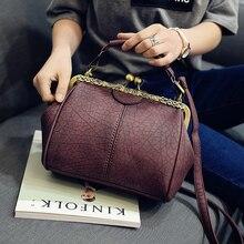 The New Spring And Summer 2019  Handbag Shoulder Bag Clip Handbag Cros