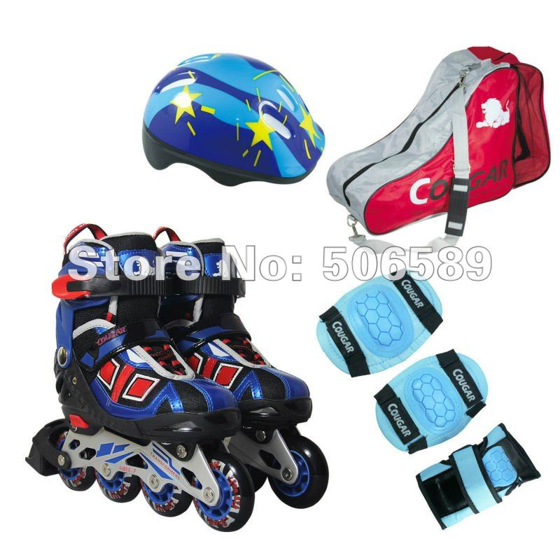 Roller Skates For Kids Free Shipping 2 Colors The Whole Set MS839