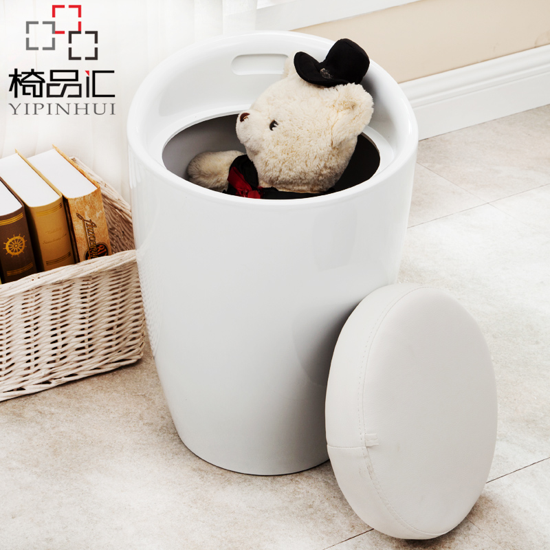 In shoes stool, storage to receive low stool, nail stools, sofa shoes stool