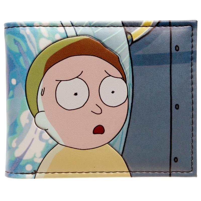 Portal Bifold Wallet - Rick and Morty DFT-10116 rick and morty pu faux leather bifold wallet dft 10049