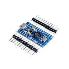 Pro mikro ATmega32U4 5V/16MHz modülü Leonardo için 2 satır pin başlığı ile stokta en iyi kalite arduino için