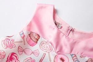 Image 3 - Cielarko Princess Girls Dress Pink Birthday Wedding Party Baby Dresses Fancy Candy Cupcake Children Frocks for 2 10 Years Girl