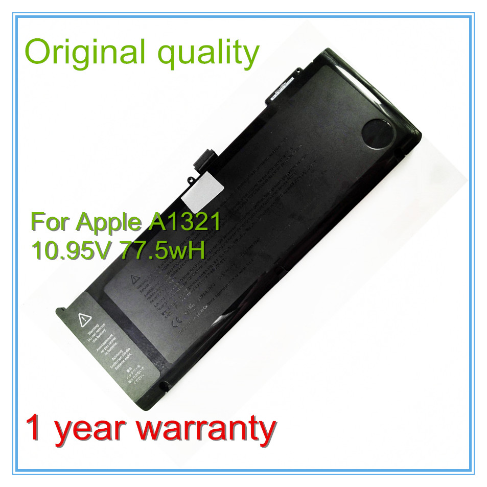 Original New Battery A1321 For  Pro 15 A1286 MB985LL/A MB986LL/A 2009 2010 Version Free Shipping