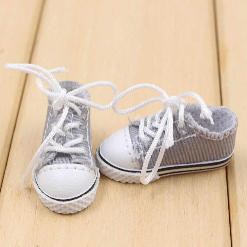 Обувь для 1/6 Blyth кукольные кроссовки 3 см пять разные цвета подходит для соединения тела Бесплатная доставка