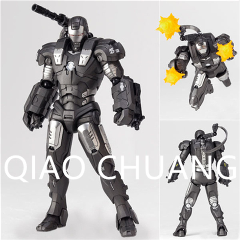 Avengers:Infinity War Superhero American Colonel James Rhodes War Machine PVC Action Figure Model Toy G1151