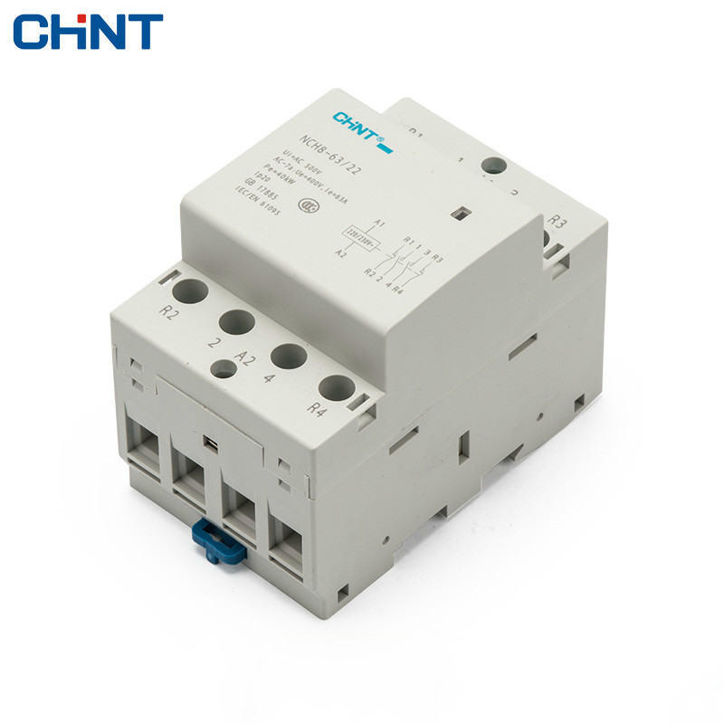 цена на CHINT Household Communication Contactor NCH8-63/22 220V Guide Type Two Normally Open Two Often Close 4P 63A