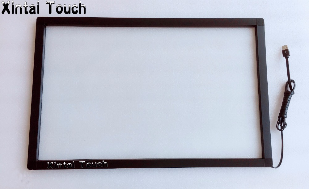 Xintai Touch 19 inch 2points infrared multi touch screen panel multi touch screen overlay multi touch