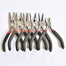 Multi-type черная ручка противоскользящая сращивания и фиксации Комплект ювелирных инструментов и инструментов Комплект для дизайна ювелирных украшений DIY