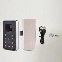 Fingerprint Lock Digital Cabinet Drawer Wardrobe Hutch Locker Electronic Keyless Lock SD998