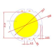 1 шт. 5 шт. 10 шт. Круглый УДАР чип DIY Источник Света 100lm / w 15 Вт 60 мм 42 мм УДАР светодиодный