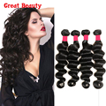 4 Pcs Fast Deals Virgin Malaysian Loose Deep Wave Hair Wet and Wavy Malaysian Deep Wave 10-30inch Tissage Cheveux Free Shipping