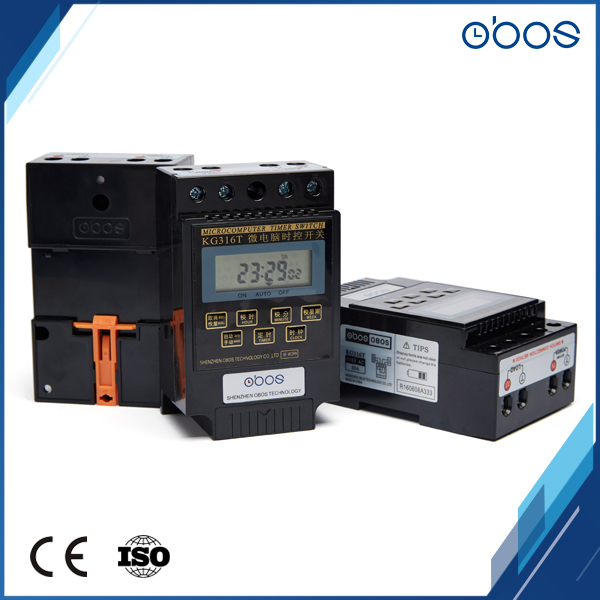 6 pièces livraison gratuite minuterie interrupteur 220 V din rail programmable minuterie numérique avec 10 fois marche/arrêt par jour plage de temps 1 min-168 H