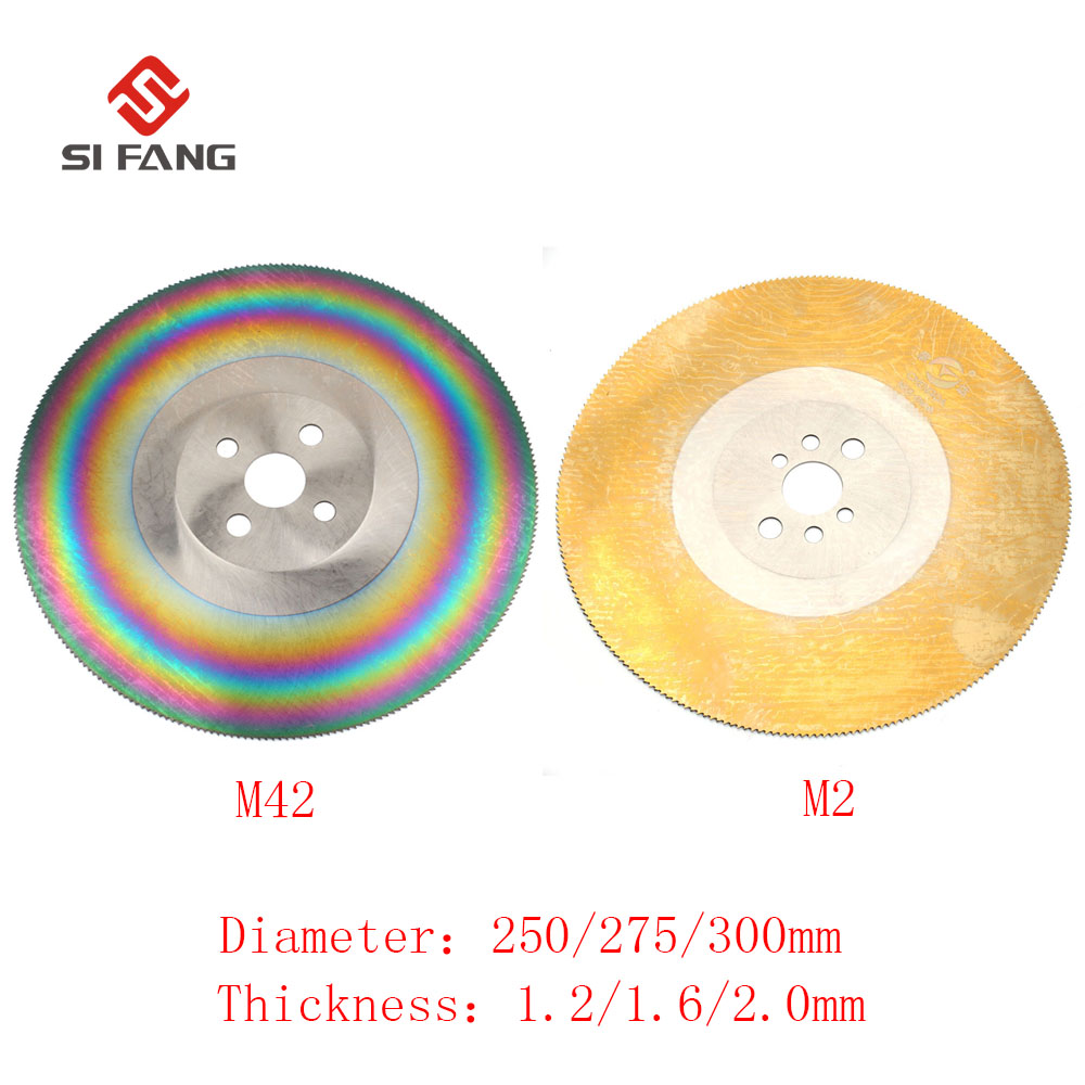 цена на 101112HSS High Speed Steel Circular Saw Blade Cutting Disc For Stainless Steel metal M42/M2 thickness 1.2/1.6/2.0mm