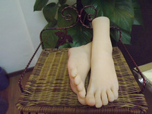 Newest 3D silicone Dream ladies foot exciting feet sweet toes mannequin Licker ,feet fetish toy