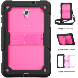 Image 1 - Case For Samsung Galaxy Tab A A2 10.5 2018 T590 T595 Heavy Duty Shockproof Kids Stand Case Cover SM T590 SM T595 Shoulder Strap