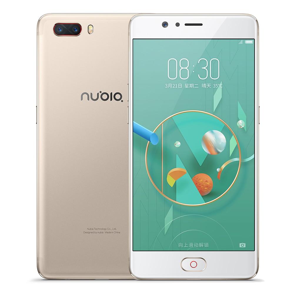 Original ZTE Nubia M2 4G LTE Snapdragon 625 Octa Core 4G RAM 64GB ROM 5 5