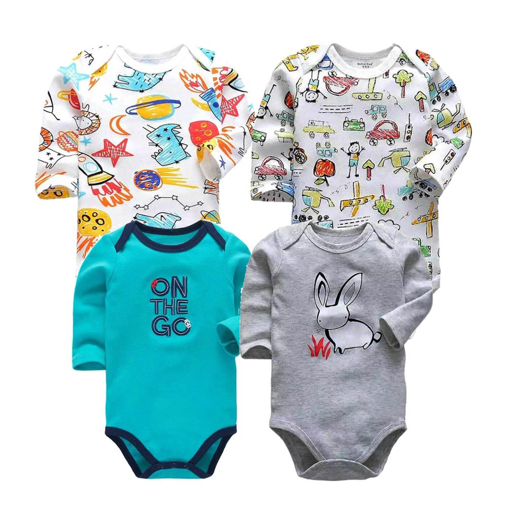 Top Quality Newborn Baby Girls   Rompers   long Sleeve Cotton toddler Baby Boys Clothes Overalls for children 0-2 years jumpsuit