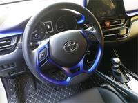 Unon Paint Car Steering Wheel Decoration Trim Sequins Sticker For Toyota CHR C HR 2016 2017 2018 Car Accessories