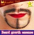 Rápido FACIAL barba bello crecimiento grueso esencia espeso bigote tratamiento NATURAL a base de hierbas suero bigote patillas ceja pecho